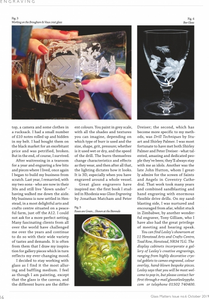 Glass Matters editorial - The Glass Society