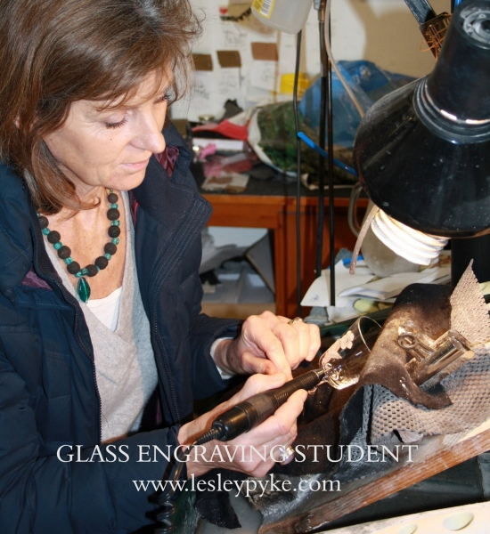 Glass Engraving Lessons