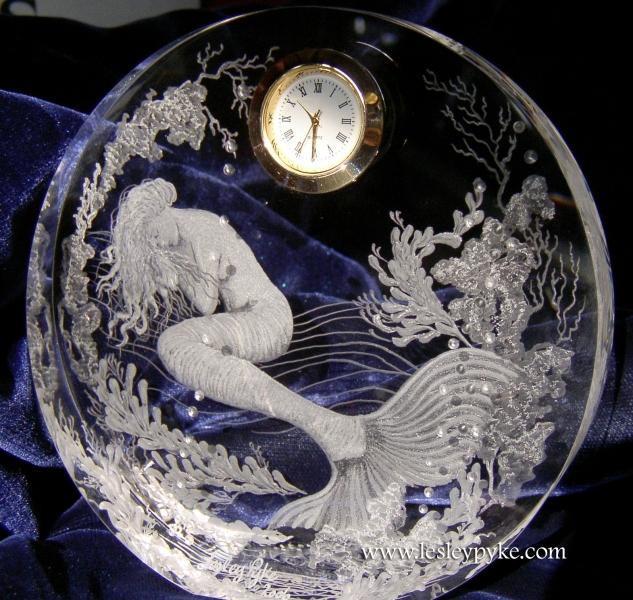sleeping mermaid