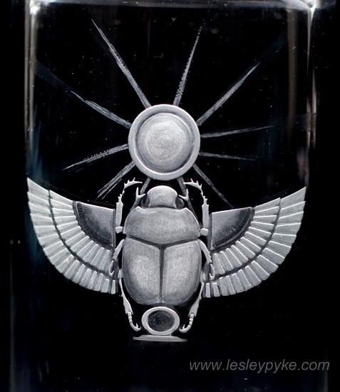 exidolo Scarab Beetle