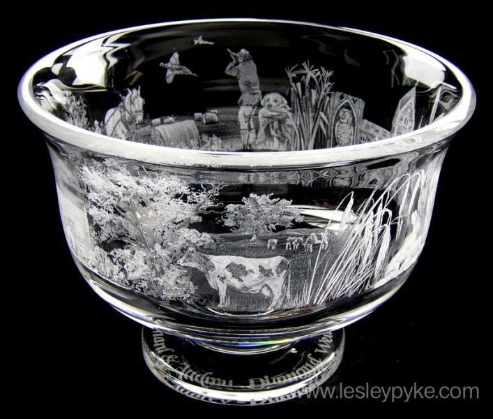 Diamond Wedding Bowl