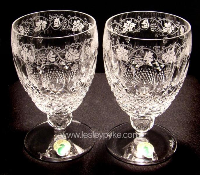 Wedding Goblets Grape design