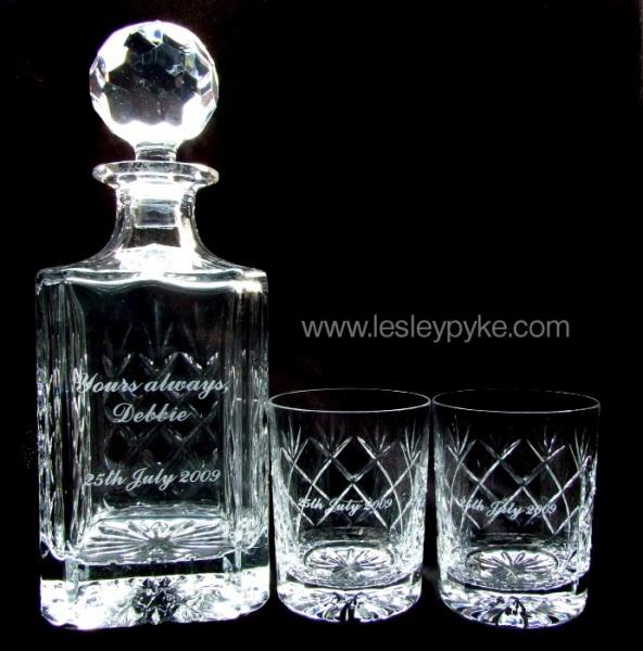 Yours Always, Wedding whisky set