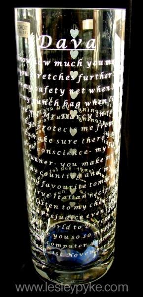 Love Poem Vase