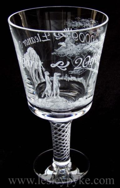 Christening goblet