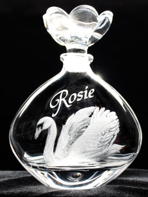 Personalised perfume bottle