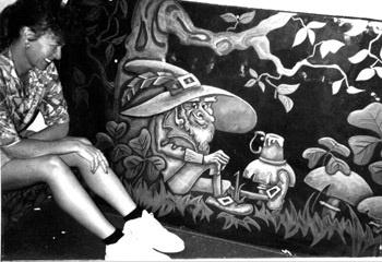 Tipperarys Night  Club engraved panel