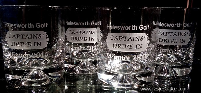 Captains' Drive in prizes
