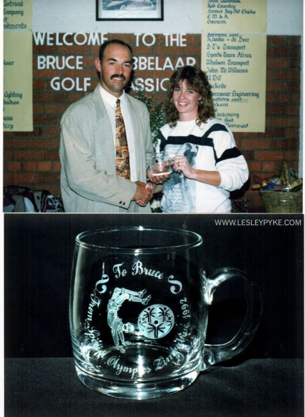 Presentation to Bruce Grobbelaar Liverpool Goalkeeper