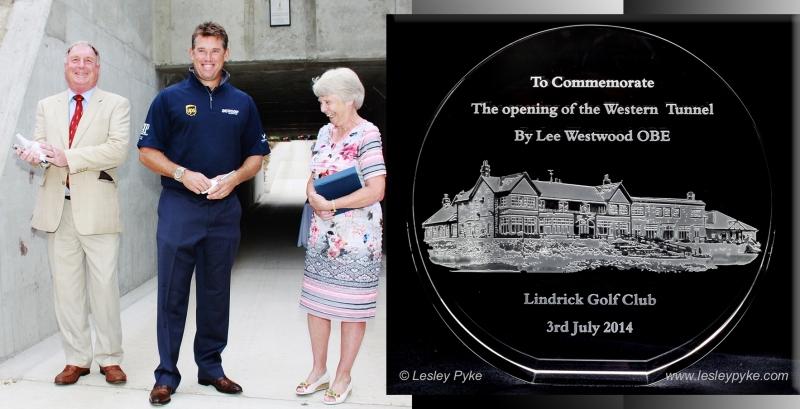 Lee Westwood presentation - Lyndrick G C