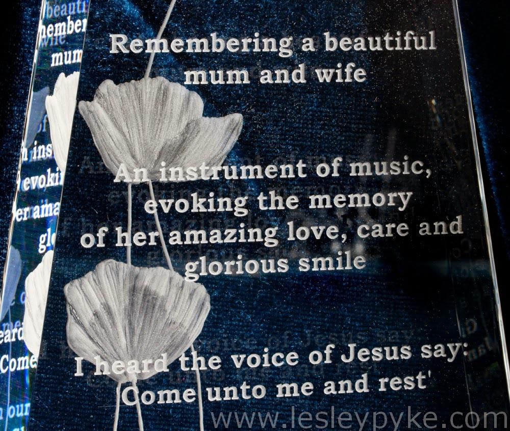 poppies memorial plaque