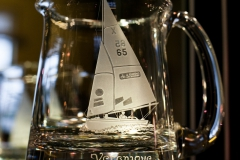 Yacht on tankard
