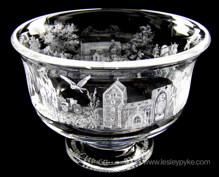 Diamond Wedding Bowl
