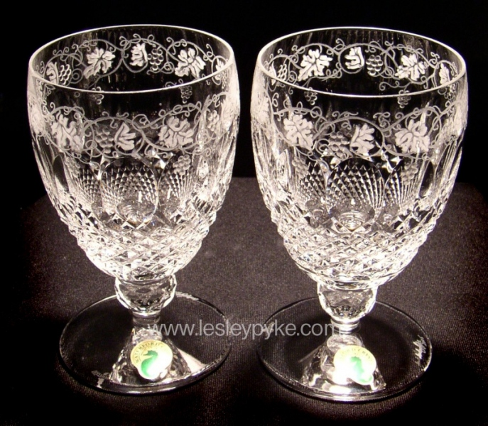 Wedding Goblets Grape design